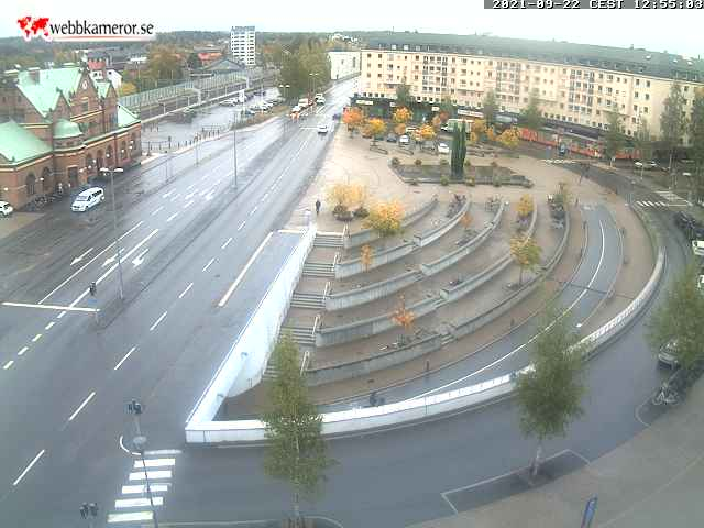 Webcam For The Port Of Umea