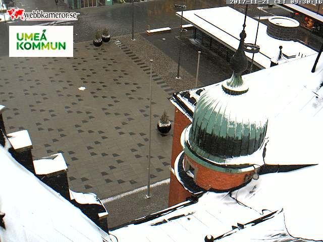 Webbkamera i Umeå