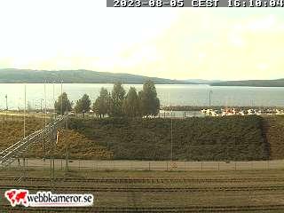 Webbkamera - Ludvika, gång- och cykelbro