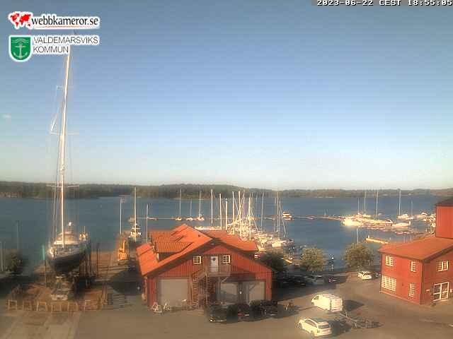 Webcam Gryt, Valdemarsvik, Östergötland, Schweden