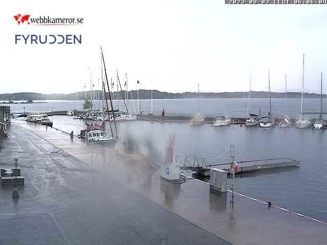 Webcam Fyrudden, Valdemarsvik, Östergötland, Schweden