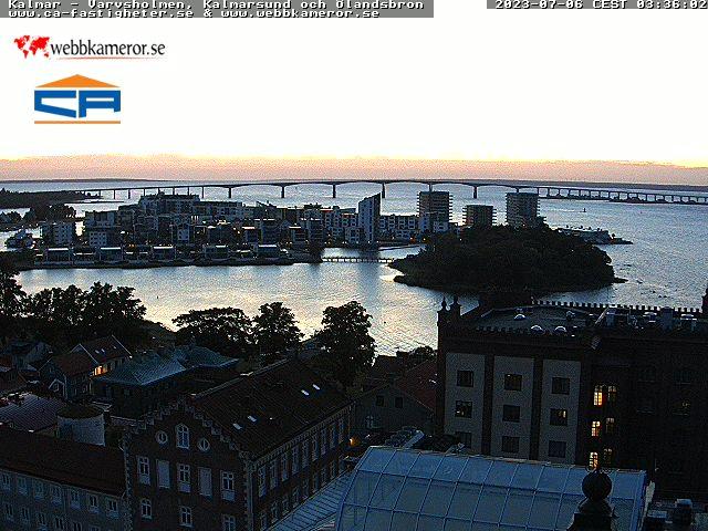 Webcam Kalmar, Kalmar, Småland, Schweden