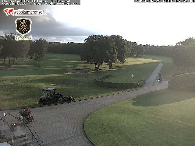 Webbkamera/Golfkamera - Halmstad Golfklubb, Tylösand