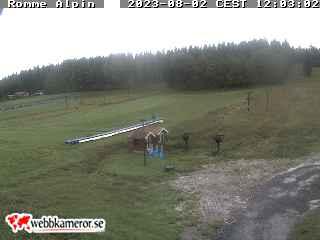 Webbkamera - Romme Alpin