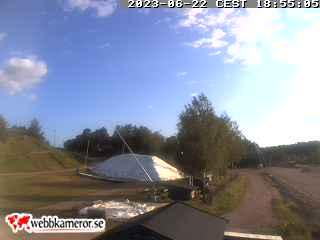 Webbkamera - Längdspår vid Vedbobacken i Västerås.