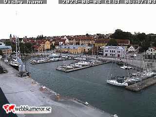 Webbkamera - Visby hamn, gästhamnen