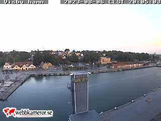Webbkamera - Visby hamn, Skepssbron